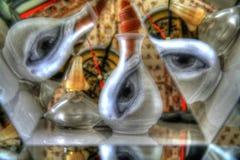 Vase à oeil Photos stock