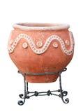 vase αρχαίου Έλληνα Στοκ Εικόνα