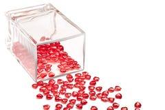 vase καρδιών Στοκ εικόνες με δικαίωμα ελεύθερης χρήσης