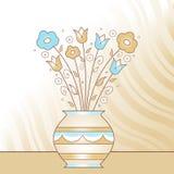 vase λουλουδιών Στοκ φωτογραφία με δικαίωμα ελεύθερης χρήσης