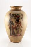 Vase με το αιγυπτιακό πρότυπο Στοκ φωτογραφία με δικαίωμα ελεύθερης χρήσης
