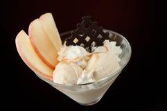 vase πάγου κρέμας Στοκ Εικόνα