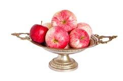 vase φθινοπώρου μήλων τρύγος Στοκ εικόνες με δικαίωμα ελεύθερης χρήσης