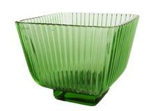 Vase. Isolated glass vase Royalty Free Stock Image