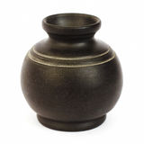 Vase. Old black vase Stock Image