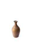 Vase. Ceramic vase isolated on a white background Stock Photography