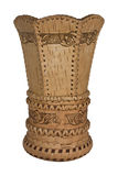 Vase. Picture of birch vase, souvenir Royalty Free Stock Image