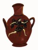 Vase antique à Grec classique avec la figure à ailes Images libres de droits