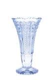 Vase antique - verre taillé - d'isolement image libre de droits