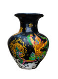 Vase art from thailand Stock Images