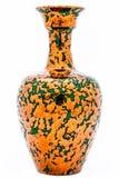 Vase av den metalliska aspekten Royaltyfri Bild