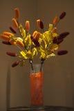 Vase avec des fleurs photographie stock