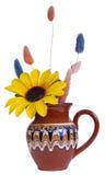 Vase avec des fleurs Photos libres de droits