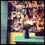 Vase avec des fleurs Photo libre de droits