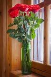 Vase avec des fleurs Images stock