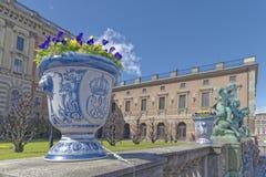 Vase avec des fleurs, Stockholm Image libre de droits