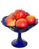 Vase avec des pommes Images stock