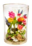 Vase avec le bouquet de fleur Photos libres de droits