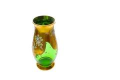 Vase avec le dessin sur le fond blanc Photo stock