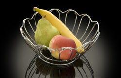 Vase avec le fruit Images libres de droits