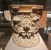 Vase aztèque cérémonieux photo libre de droits