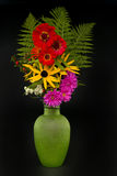 Vase with bouquet. Royalty Free Stock Image