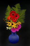 Vase with bouquet. Royalty Free Stock Images