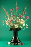 Vase with bouquet Royalty Free Stock Photos