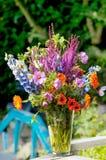 Vase with bouquet Stock Photos