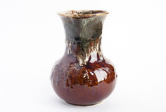 Vase brown Royalty Free Stock Image