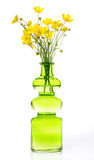 Vase with buttercups Royalty Free Stock Photo