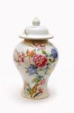 Vase chinois à porcelaine image libre de droits