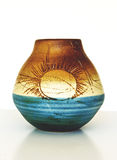 Vase circa 1950.Ceramic του Ισραήλ â Στοκ Εικόνες