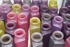 Vase. Colorful decoration decorative vase modern ikea Stock Images