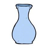 vase comique à bande dessinée illustration de vecteur