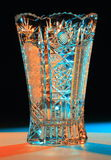 Vase Of Cut Glass Stock Image