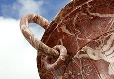 Vase de marbre à Rose Photographie stock libre de droits