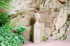Vase des Steins Lizenzfreies Stockfoto