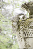 Vase with detail of a goat Royalty Free Stock Photo