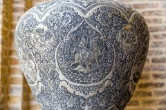 Vase ditail souvenir from Shiraz Royalty Free Stock Photography