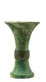 Vase en bronze avec photo stock