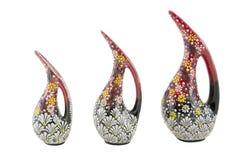 Vase en céramique à pélican Vazo pelikan de la Turquie Kutahya çini Image stock