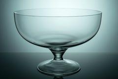 Vase en verre de fruit Images libres de droits