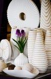 Vase et bac Photographie stock libre de droits