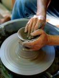 Vase fabriqué à la main Photographie stock