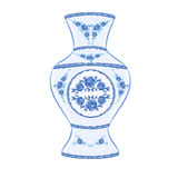 Vase faience vector. Illustration without gradients Stock Photo