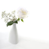 Vase with flower bouquet Stock Images