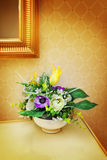 Vase of flowers Royalty Free Stock Images