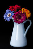 Vase and Flowers Royalty Free Stock Photos