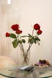 Vase with flowers Stock Photo
